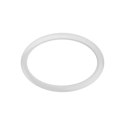 Bass Drum O's 6 White Oval Drum O's