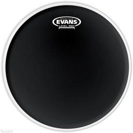 """Evans Evans Resonant Black 8"""" Tom Drumhead"""