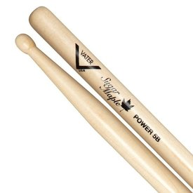 Vater Vater Sugar Maple Power 5B Wood Tip Drumsticks