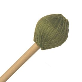 "Mike Balter Mike Balter 212B Chorale Series 17 5/8"" Medium Hard Green Microfiber Marimba Mallets with Birch Handles"