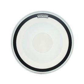 "Aquarian Aquarian Impact III Series 18"" (1-Ply) Texture Coated with Power Dot and Ring Drumhead"