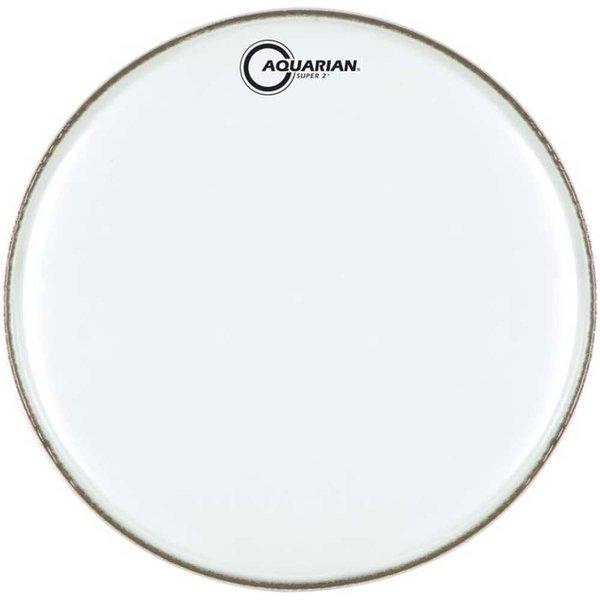 "Aquarian Aquarian Super-2 Series Texture Coated 18"" (2-Ply) Drumhead"