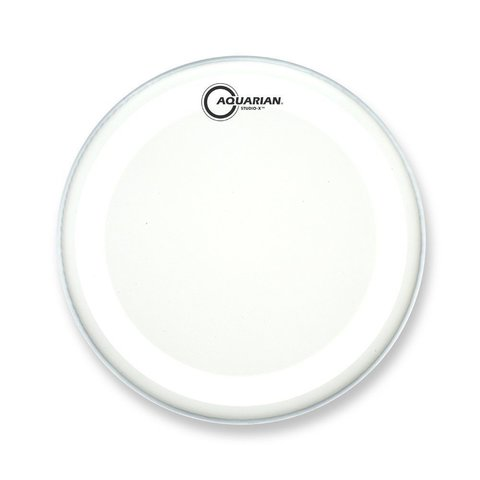 "Aquarian Studio-X Series Texture Coated 8"" Drumhead - White"