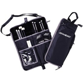 Ahead Ahead Deluxe Stick Bag (Black with Black Trim, Plush interior)