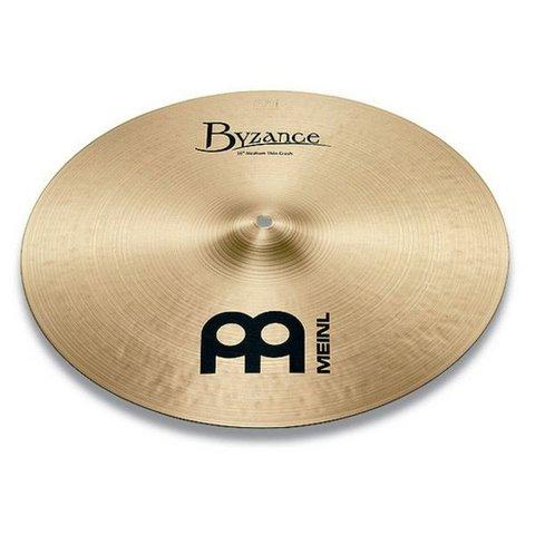 """Meinl Byzance Traditional 19"""" Medium Thin Crash Cymbal"""