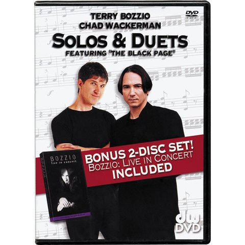 Terry Bozzio and Chad Wackerman: Solos and Duets DVD