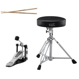 Roland Roland V-Drums Accessory Package - kick pedal, throne & sticks