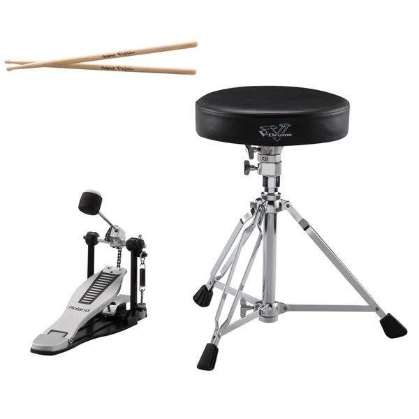 Roland Roland V-Drums Accessory Package - kick pedal, throne & sticks
