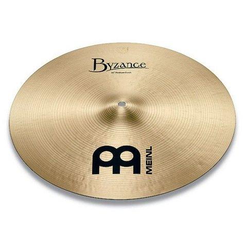 """Meinl Byzance Traditional 21"""" Medium Crash Cymbal"""