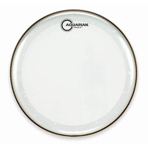"""Aquarian Focus-X Series 14"""" Drumhead - Clear"""