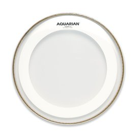 "Aquarian Aquarian Super-2 Series 15"" Drumhead with Studio-X Ring"