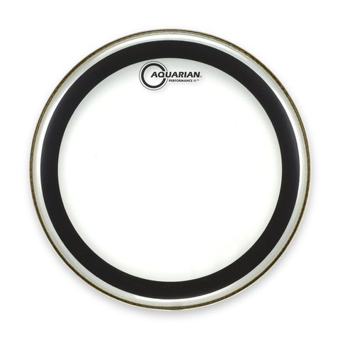 "Aquarian 12"" (2-Ply) Drumhead with Glue"