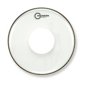 "Aquarian Aquarian Response 2 Series 8"" (2-Ply) Drumhead with Power Dot - No Glue"