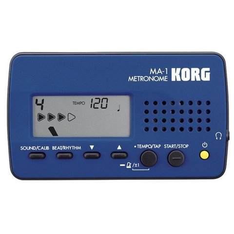Korg MA-1 Digital Metronome; Blue
