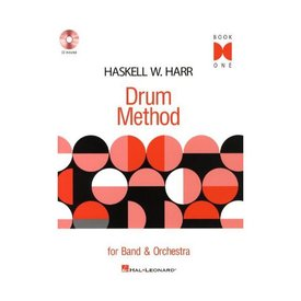 Hal Leonard Haskell W. Harr Drum Method - Book One; Book & CD