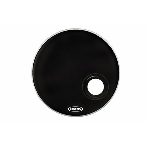 "Evans EMAD Resonant Black 22"" Bass Drumhead"