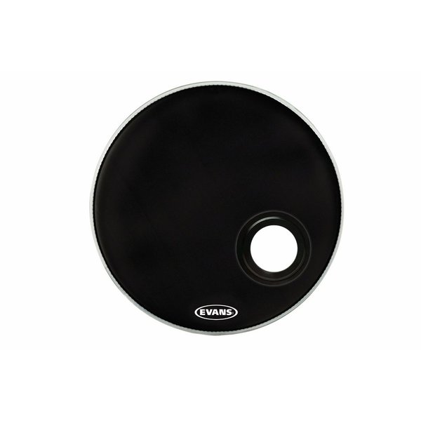 "Evans Evans EMAD Resonant Black 22"" Bass Drumhead"