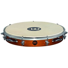 Meinl Meinl Wood Pandeiro 10 Goat Skin Head Chest Nut
