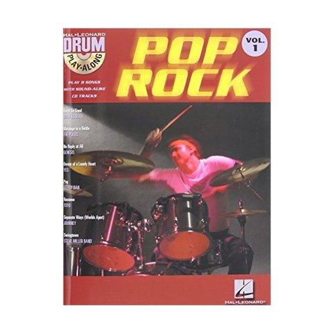 Pop/Rock Drum Play-Along Volume 1; Book & CD