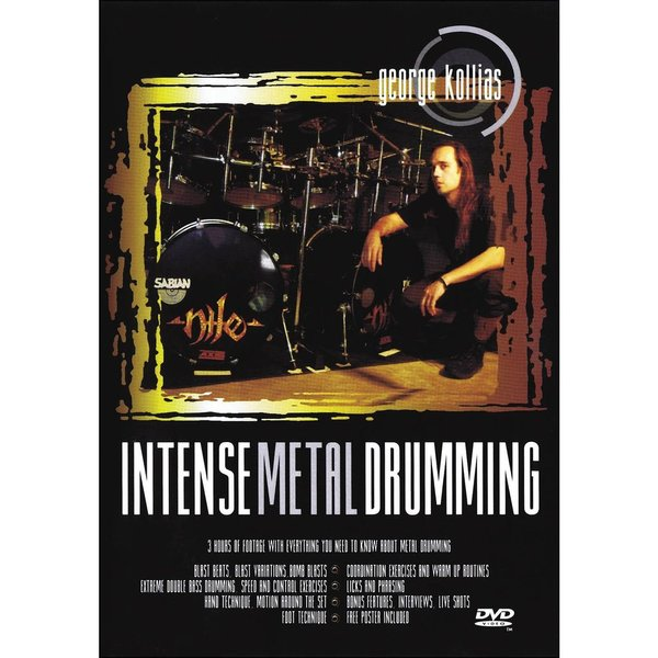 Hal Leonard George Kollias: Intense Metal Drumming DVD