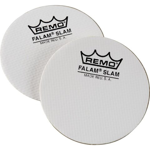 """Remo Falam Slam Single Pedal Patch - 2.5"""" - 2-Pack"""