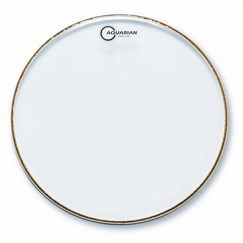 "Aquarian Force Ten 16"" Clear Drumhead"