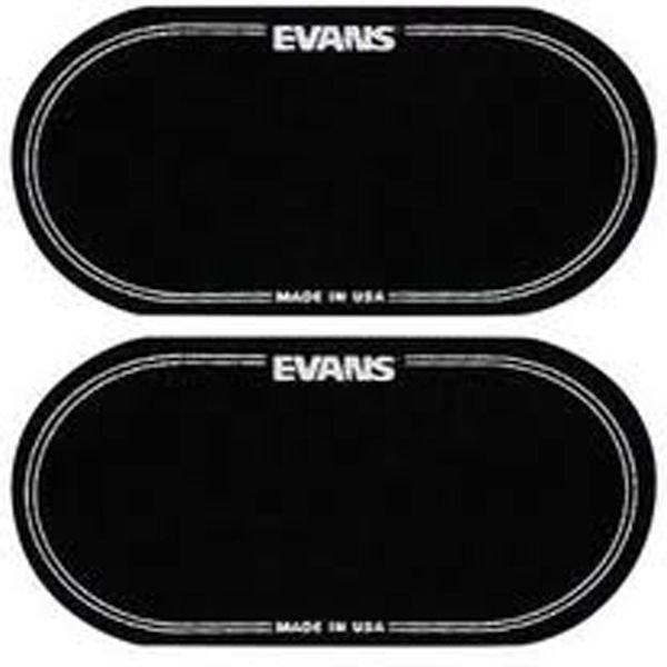 Evans Evans Black Nylon Bass Drum Patch Double Pedal (2 Pack)
