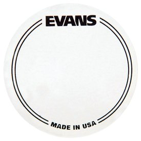 Evans Evans Clear Polyester Bass Drum Patch Single Pedal (2 Pack)