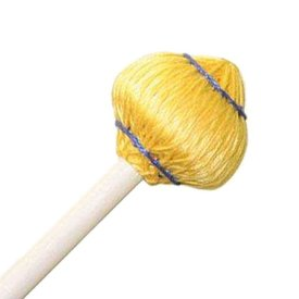 "Mike Balter Mike Balter 64B Mushroom Head Series 15 1/2"" Medium Soft Yellow Cord Marimba/Vibe Mallets with Birch Handles"