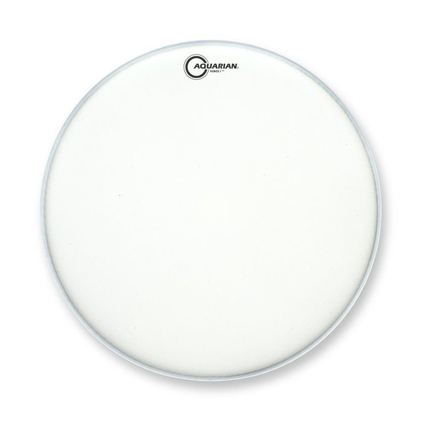 "Aquarian Aquarian Full Force Series 22"" Bass Drum Batter Head and KP1 Kick Pad - White"