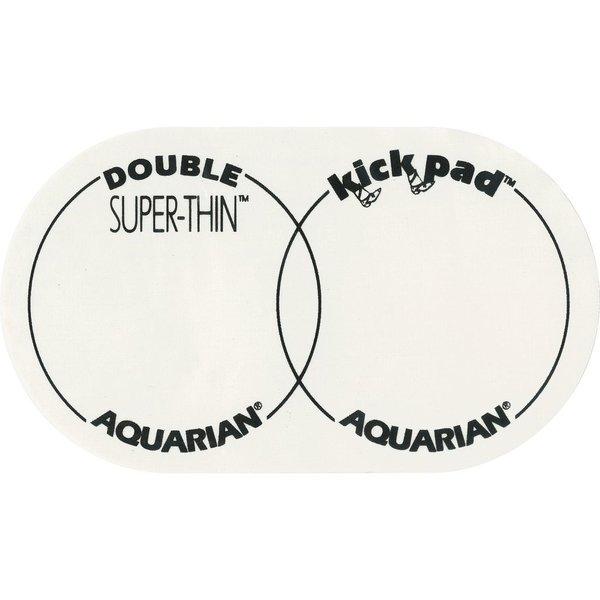 Aquarian Aquarian Super-Thin Double Kick Pad