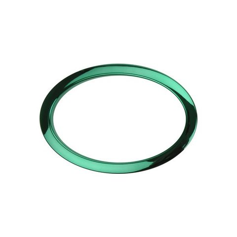 Bass Drum O's 6 Green Oval Drum O's