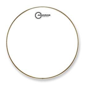 """Aquarian Aquarian Classic Clear Series 10"""" Drumhead - White"""