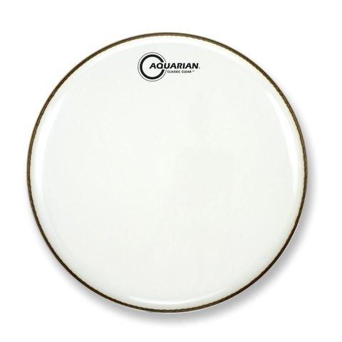 """Aquarian Classic Clear Series 14"""" Bass Drumhead"""
