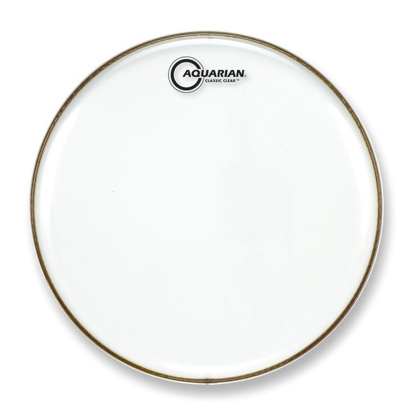 "Aquarian Aquarian Classic Clear Series 10"" Snare Bottom Drumhead"