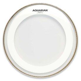 "Aquarian Aquarian Super-2 Series 8"" Drumhead with Studio-X Ring"