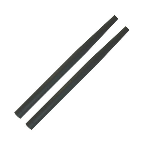 Ahead Super Short Taper Covers Pair (Black)