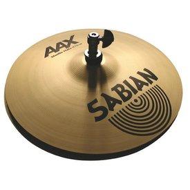 "Sabian Sabian AAX 13"" Studio Hats Hi Hat Cymbals Brilliant"
