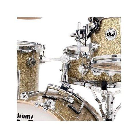 DW 7000 Series Retro-Style Bass Drum Mount - Chrome