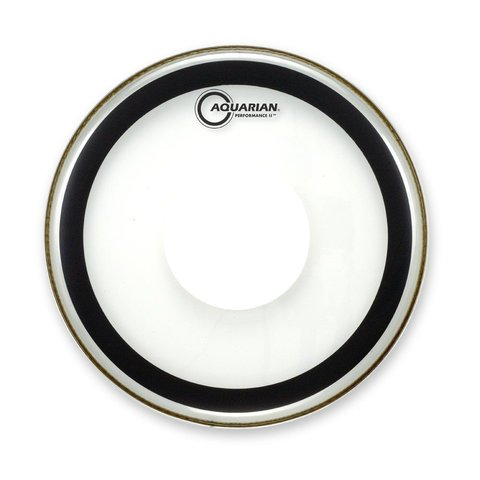 "Aquarian 10"" (2-Ply) Drumhead with Power Dot and Glue"