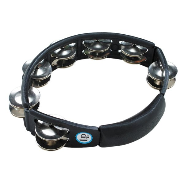 LP LP Cyclops Jingle Tambourine - Steel/Black/Handheld