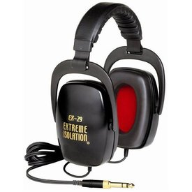 Direct Sound Direct Sound EX-29 Extreme Isolation Headphones w/ Close Back Speakers-Black