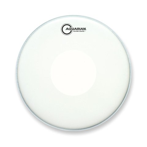 "Aquarian Texture Coated 15"" Drumhead with Power Dot Underside"