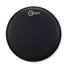 "Aquarian Aquarian Response 2 Series Texture Coated 8"" (2-Ply) Drumhead - Black"