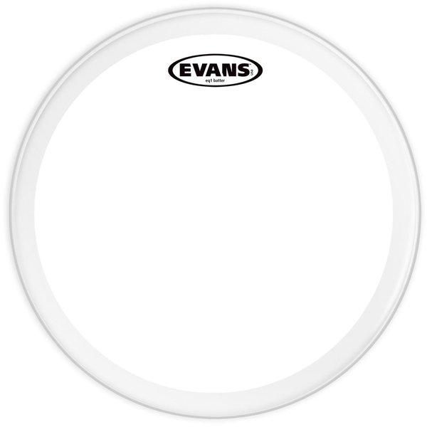 """Evans Evans EQ1 Clear 24"""" Bass Drumhead"""