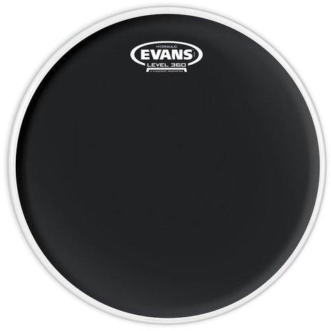 "Evans Hydraulic Black 15"" Tom Drumhead"