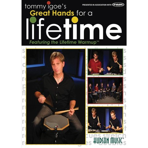 Tommy Igoe: Great Hands for a Lifetime DVD