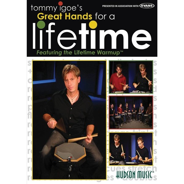 Hal Leonard Tommy Igoe: Great Hands for a Lifetime DVD