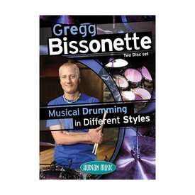 Hal Leonard Gregg Bissonette: Musical Drumming in Different Styles DVD