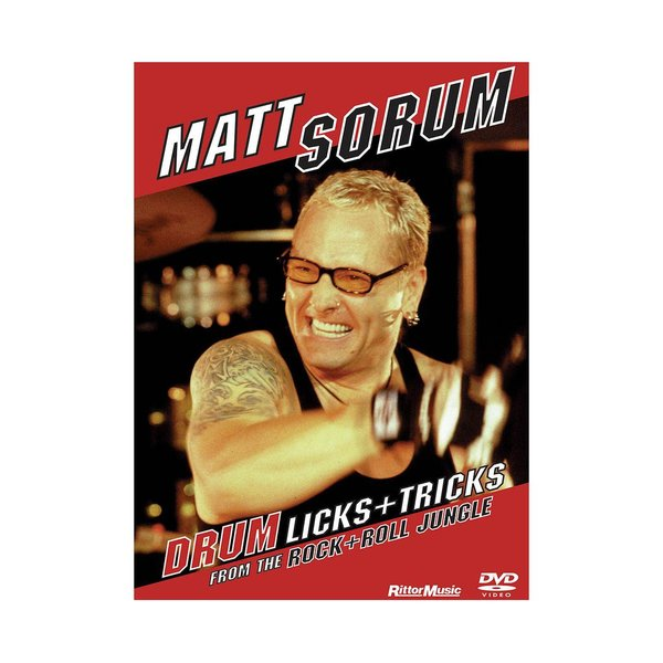 Hal Leonard Matt Sorum: Drum Licks + Tricks from the Rock+Roll Jungle DVD